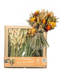 Creatief met droogbloemen DIY box: met instructie video