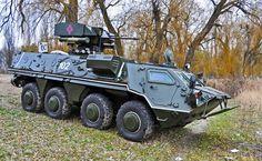 """БТР-4 з бойовим модулем """"Грім"""""""