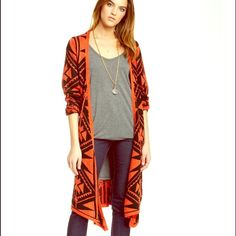 JOHN FASHION COUTURE Cape Cardigan NWT NWT! SOLD OUT EVERYWHERE! Retail $199  John Fashion Sweaters Cardigans