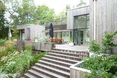 Innovative Architecture, Modern Architecture, Building Design, Building A House, Small Cottages, Garden Deco, Backyard, Patio, Garden Inspiration