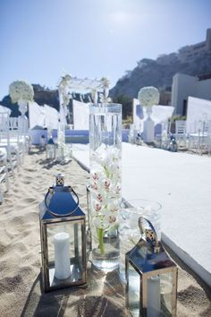 #Blue Beach Wedding Decoration … Budget wedding ideas for brides, grooms, parents  planners ... https://itunes.apple.com/us/app/the-gold-wedding-planner/id498112599?ls=1=8 ♥ The Gold Wedding Planner iPhone App ♥