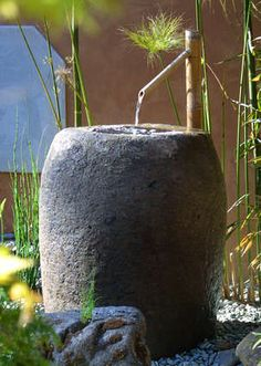 Water feature – Japanese water fountain – Sōzu