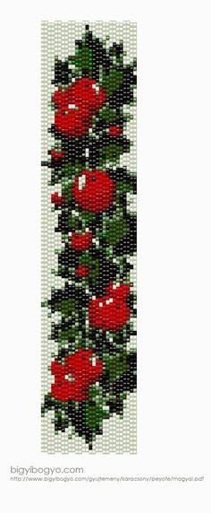Egy hét múlva karácsony.  Ezt gyöngymintával lehet a legfrappánsabban megünnepelni, legalábbis itt nálam :), úgyhogy jöjjön az idei valószín...