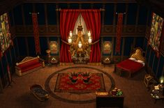 Mod The Sims - P+N: New throne rooms?
