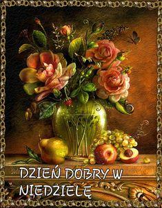 Art Floral, Beautiful Gif, Beautiful Gardens, Beautiful Flowers, Decoupage, Gif Rose, Still Life Flowers, Fruit Painting, Rose Cottage