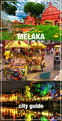 Complete city guide to Melaka, Malaysia. Things to do in Melaka, best hostels in Melaka, night food market, river cruise, how to get to Melaka from KL, heritage site, colorful town, travel Malaysia, river, tuk tuk, beautiful night town, thing to do in Melaka, tower, south east asia.