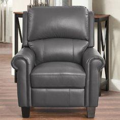 Alcott Hill Bumpy Manual Recliner Upholstery: Gray
