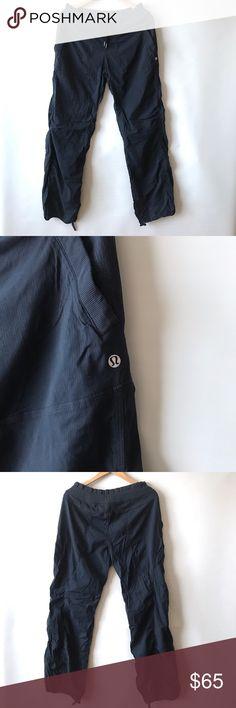 "Lululemon Studio Dance pants in Navy Sz 12 Lululemon Studio Dance pants. Sz 12. Inseam 33"" lululemon athletica Pants Track Pants & Joggers"