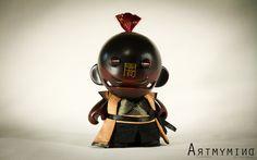 Samurai Munnys by ArtMy Mind.
