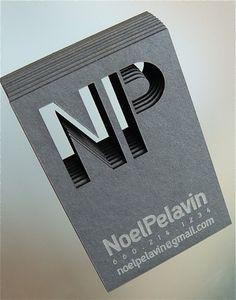 8 best laser cut business cards images on pinterest business cards creative metal business cards by noel pelavin designcanyon reheart Choice Image