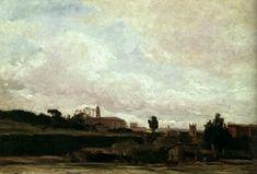 Richard Parkes Bonington, Landscape, c. 1825