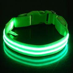 led collar for pet Led Dog Collar, Types Of Lighting, Led Night Light