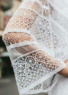 DEtalles de mangas de novia