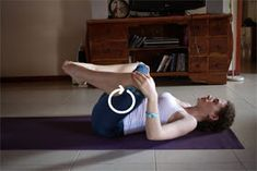Yoga Gypsy: Therapeutic yoga stretches for sciatica (with photos!)