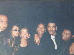 … looks like they are at the Soul Train Awards in Credit Tina Fernandez. Aaliyah Miss You, Rip Aaliyah, My Black Is Beautiful, Beautiful People, Soul Train Awards, Aaliyah Haughton, 90s Nostalgia, Girl Inspiration, Brown Girl
