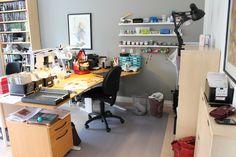 Mitt hobbyrum - Pia - publisert i The Paper Crafting august 2014:http://thepapercrafting.com/mit-hobbyrum-pia-2/