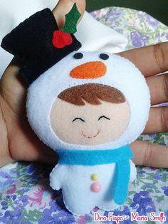 Meu boneco de neve <3 | Flickr - Photo Sharing!