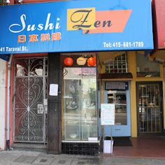 The best little hole in the wall sushi place- in the Sunset, SF. Sushi, Best Dentist, Zen, San Francisco, Neon Signs, California, Restaurant, Good Things, Places