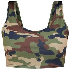 Designer Clothes, Shoes & Bags for Women Camo Outfits, Crop Top Outfits, Edgy Outfits, Cute Casual Outfits, Camo Fashion, Denim Fashion, Girls Fashion Clothes, Teen Fashion Outfits, Camo Gear