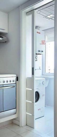 Risultati immagini per lavanderia de apto pequeno