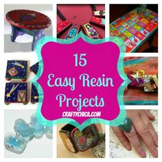 15-easy-resin-projects .  good ideas for starting out