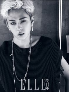 B2ST's Junhyung for ELLE