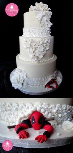 Les plus beaux gâteaux geeks - Deadpool