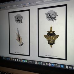 Pins already in production, just getting the backing cards made. #thetallonco #pingame #patchgame #pins #tattoo #skull #moth #dagger #switchblade #instapic #instadaily #hand #london