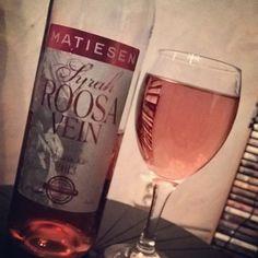 Easy Saturday night, some TV and a bottle of  Matiesen Rose wine. #wine #vino #rosewine #bottle #matiesen #luscherandmatiesen #estonian #drinks #saturdaynight #booze #syrah #instalike #instawine #instagood #winetasting