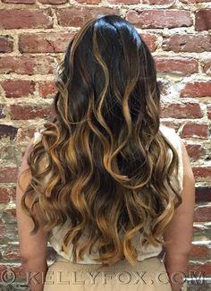 #Balayage #highlights by Kelly #brunette #hairpainting #hair #davidriossalon #dcsalon #haircoloring #bronde #georgetownsalon #dcstylist