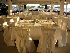 Luxurious reception venue by the sea