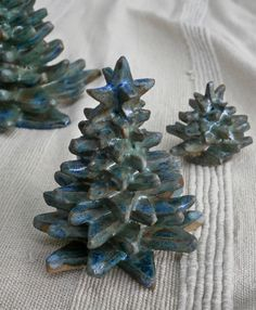 handbuilt ceramic xmas trees - Google Search