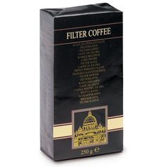 AMWAY™ Filter Coffee 4packs x 250g  Filter coffee needs to be infused with hot water.  http://home-beauty.org/amway/amway-filter-coffee-4packs-x-250g/