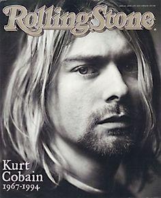 Kurt Cobain on the June 2, 1994 cover.
