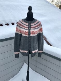 """Excited to share this item from my #etsy shop: Norwegian handknitted cardigan in """"Nancy"""" design"""
