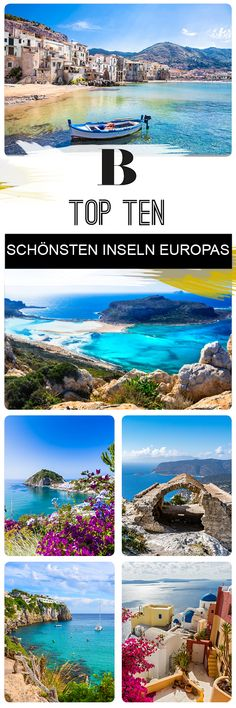 Top Ten: Das sind die 10 schönsten Inseln in Europa 🏖Top Ten: These are the 10 most beautiful islands in Europe. Nowhere is summer better celebrated than on an island. These are the top ten in Europe. Honeymoon Night, Honeymoon Cruise, Thailand Honeymoon, Hawaii Honeymoon, Romantic Honeymoon, Honeymoon Ideas, Vacations To Go, Vacation Trips, Europe Destinations
