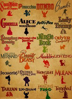 Disney Movies they need a pixar one of these too:) Walt Disney, Disney Pixar, Disney Amor, Disney And Dreamworks, Disney Girls, Disney Love, Disney Magic, Disney Characters, Disney Stuff