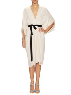 Ness Silk Double Georgette Cocktail Dress by Issa at Gilt