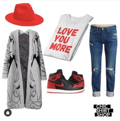 Nike Outfits, Love You More, Shirt Shop, Chic, Polyvore, Shirts, Shopping, Image, Fashion