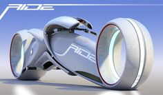 Luxology Gallery: Ride, electric Motorcycle concept