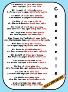 Bild des Tages - Learn German with a different image daily