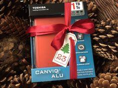 Toshiba Canvio Alu tragbare Festplatte im Adventskalender | Fashion Insider Magazin