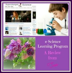e-Science Program homeschool science review at Circling Through This Life #science #homeschool #hsreview