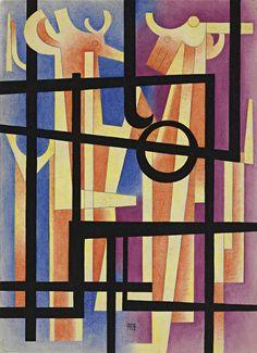 'Epitalamio' (1968) by Carlos Mérida