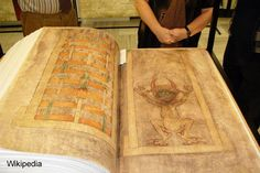 Codex Gigas (the Devil's Bible) - the largest manuscript in the world - See more at: http://www.ancient-origins.net/myths-legends-europe/codex-gigas-devil-s-bible-largest-manuscript-world-001276#sthash.bqdpVH6g.dpuf