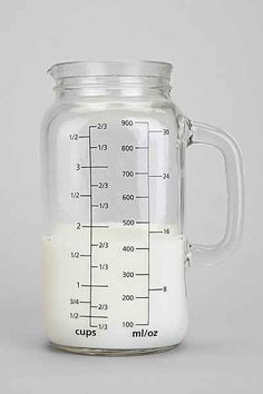 mason jar measuring cup