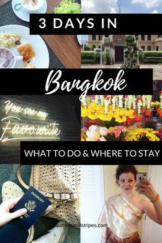 City Guide for Bangkok, Thailand. 3 days in Bangkok: what to do, where to eat, what tourist attractions to avoid Bangkok Travel, Thailand Travel, Asia Travel, Bangkok Trip, Croatia Travel, Nightlife Travel, Hawaii Travel, Italy Travel, 3 Days In Bangkok