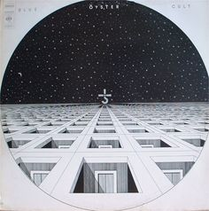 """BLUE OYSTER CULT """"BLUE OYSTER CULT"""" Cover by Bill Gawlik. Surreal cover for the bands first album (he also designed their second album). Cd Album Covers, Greatest Album Covers, Classic Album Covers, Music Covers, Lp Cover, Vinyl Cover, Cover Art, Blue Oyster Cult, Cyberpunk"""