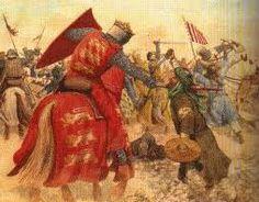 Рицар в битка / Knight in battle