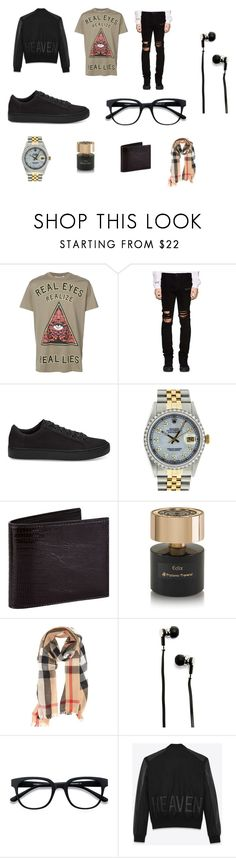"""Boy`s style"" by polina-markina on Polyvore featuring Givenchy, RtA, TOMS, Rolex, Tom Ford, Tiziana Terenzi, Burberry, Master & Dynamic, EyeBuyDirect.com и Yves Saint Laurent"
